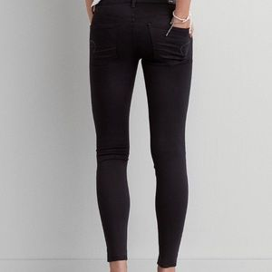 ⬇️Price⬇️ American Eagle Satin Black Jeans